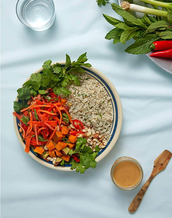 Crunchy | Thai | Fonio Bowl