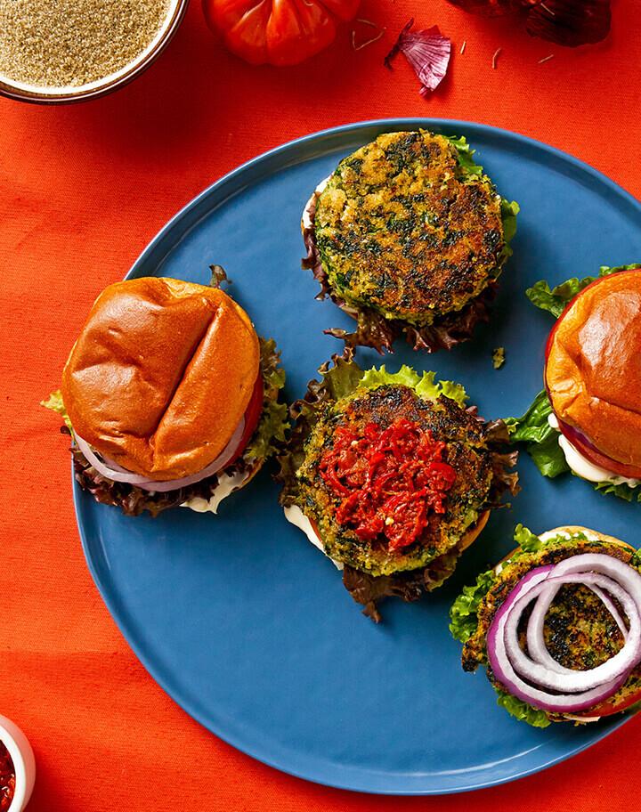Moringa | Fonio | Veggie | Burger