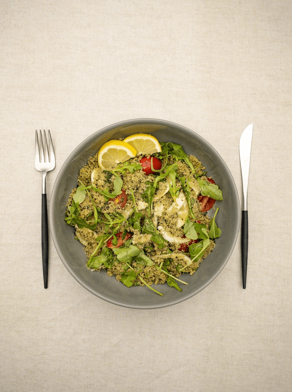 Greens! | Fonio Pilaf | Summer | Salad