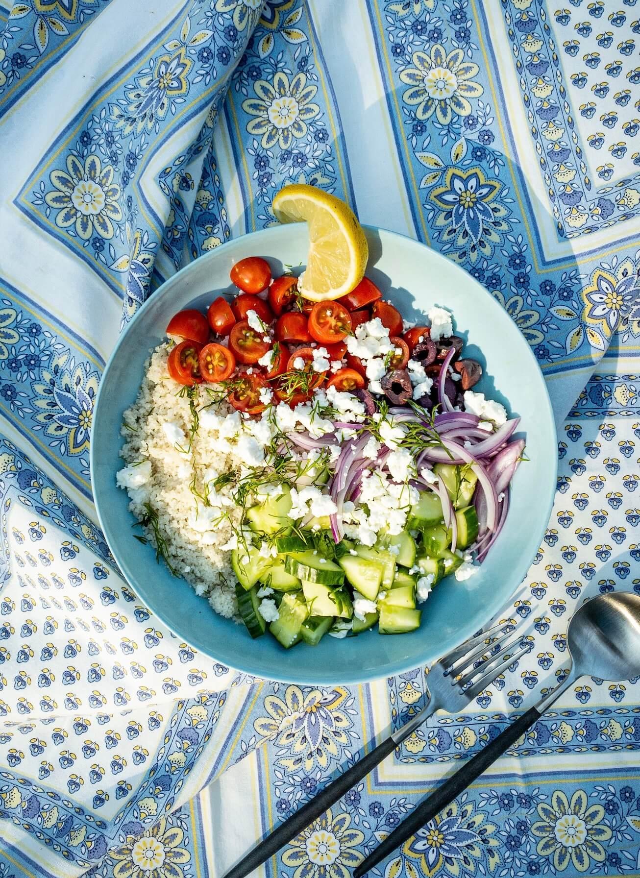 Fonio | Greek | Salad