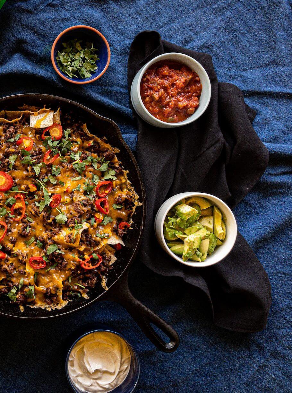 Nachos | con Carne | de Res | w/ Sea Salt | Fonio Chips